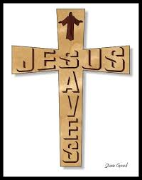 scrollsaw workshop jesus saves cross scroll saw pattern