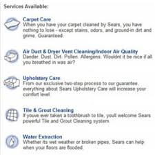 Sears Upholstery Cleaner Sears Carpet Cleaning U0026 Air Duct Cleaning 10 Photos Carpet