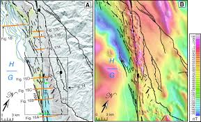 San Simeon Map Influence Of Fault Trend Bends And Convergence On Shallow