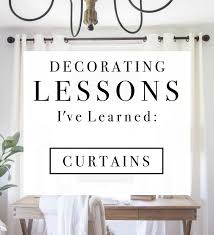 decorating lessons i u0027ve learned curtains love grows wild