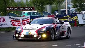 cars honda racing hsv 010 lexus lfa gazoo nur rc vs honda hsv 010 raybring youtube