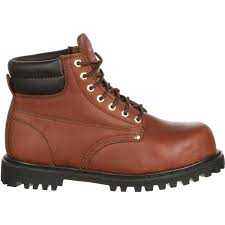 brown leather steel toe 6