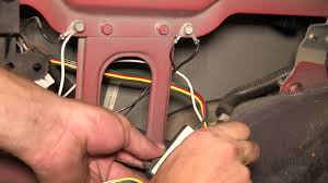 installation of a trailer wiring harness on a 1998 jeep cherokee