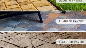 Cost Of Paver Patio Home Easy Types Of Pavers For Patio On Home Design Planning With Types