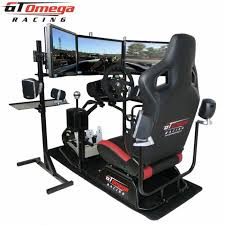 Racing Simulator Chair Gt Omega Pro Racing Simulator Supreme Rs6 Seat