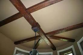 beam mount for ceiling fan how to install a ceiling fan box on an exposed beam www lightneasy net