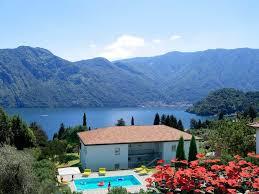 immobilien comer see menaggio wohnung mit balkon und seeblick