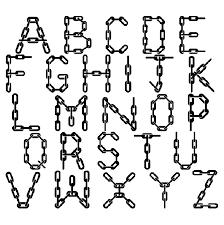 graffiti walls chain graffiti alphabet letters a z design