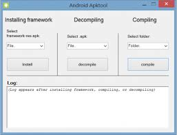 apk tool decompile and recompile apks with android apktool