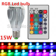 color changing light bulb with remote 2017 new arrival led rgb bulb e27 15w remote control color changing