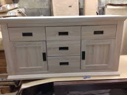 clifton 2 door 5 drawer sideboard in new condition limed oak