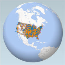 us map globe get started with 3d maps excel
