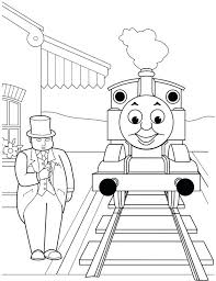 thomas train friends printable coloring pages molly tank