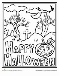 halloween coloring pages middle schoolers u2013 festival collections