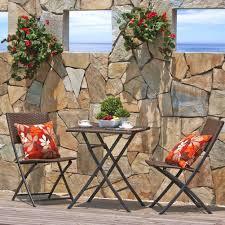 amazon com grand patio parma rattan patio bistro set weather