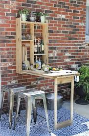 Build Outside Wooden Table by Best 25 Outdoor Folding Table Ideas On Pinterest Space Saving