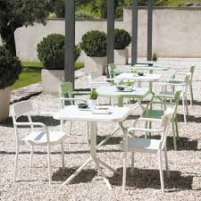 Wilko Garden Furniture Contemporary Bistro Table Aluminum Square Garden Grace By