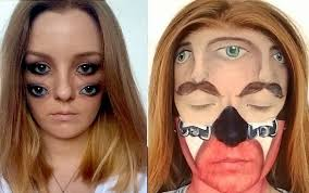 how to be a makeup artist amazing this makeup artist can transform herself into anything