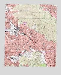 map of burbank ca burbank ca topographic map topoquest