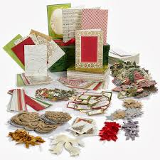 the paper boutique griffin trimmings cardmaking kit