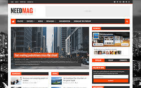 need mag responsive blogger template free download free download