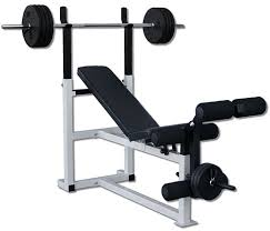 Weight Bench With Bar - standard weight bench unique design with barbell bench