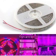 12v dc led grow lights led plant grow strip light 5m dc 12v 5 red 1 blue 5050 led strip