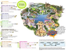 International Drive Orlando Map by Islands Of Adventure Universal Orlando Map For Toddlers