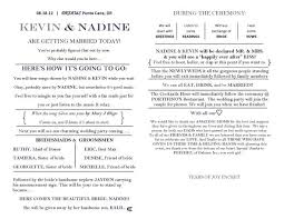wedding ceremony bulletin template one of my many programs ideas weddingbee photo gallery
