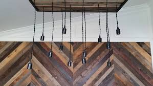 Chandelier Canopy by Custom Pendant Light Chandelier With Reclaimed Wood Canopy Just