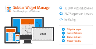 layout page null sidebar widget manager for wordpress v3 21 null definition null