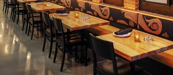 reclaimed wood restaurant table tops impressive restaurant tables and chairs hercules black ladder back