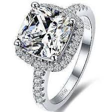 engagement rings sterling silver sterling silver ring ebay