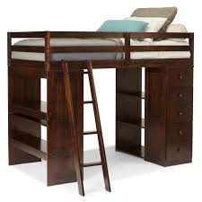 unique twin loft bed with desk and storage m87 for your designing