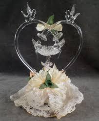 glass bird wedding cake toppers items similar to love birds