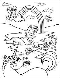 coloring pages free printable rainbow coloring pages for kids