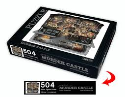h h holmes murder castle pen u0026 ink w digital color 18