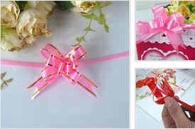 Gift Wrapping Accessories - aliexpress com buy 50pcs pull flower ribbon bow gift wrap candy