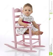 Infant Toddler Rocking Chair Baby In Rocking Chair Stock Photo Image 16169050