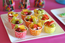 fruit treats rainbow birthday party glorious treats