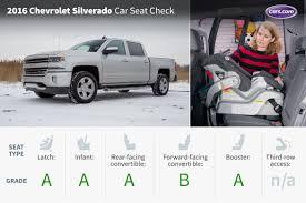 subaru truck with seats in bed 2016 chevrolet silverado crew cab car seat check news cars com