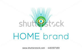 Home Decoration Logo Peacock Vector Logo Template Stock Vector 378330214 Shutterstock