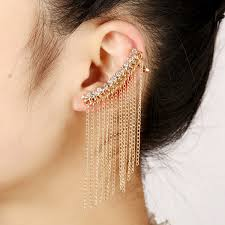 ear cuff jewelry 2017 new trendy statement ear cuff jewelry gold silver plated