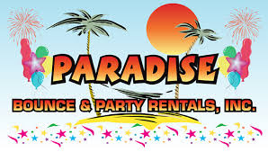 party rentals broward paradise bounce and party rentals home bounce houses broward