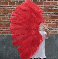 feather fans 2018 hot sale layer ostrich feather fan