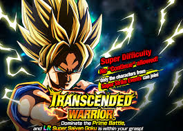 transcended warrior dragon ball dokkan battle wikia fandom