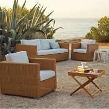cane line chester 3 seater lounge sofa natural cane line fibre