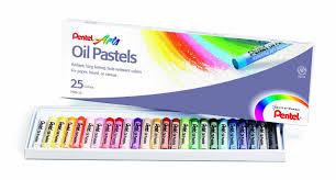 amazon com pentel arts oil pastels 50 color set phn 50