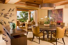 Quartz Table L Hawaii Quartz Dining Table Room Tropical With Leather Chair
