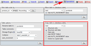 Sql Copy Table From One Database To Another Copy A Mysql Table With Phpmyadmin Electric Toolbox